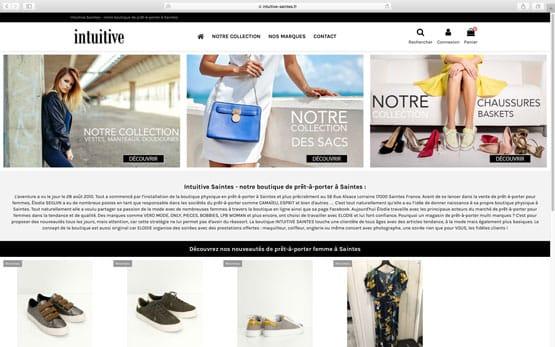 création site e-commerce prestashop pour vendre des vêtements multi marques