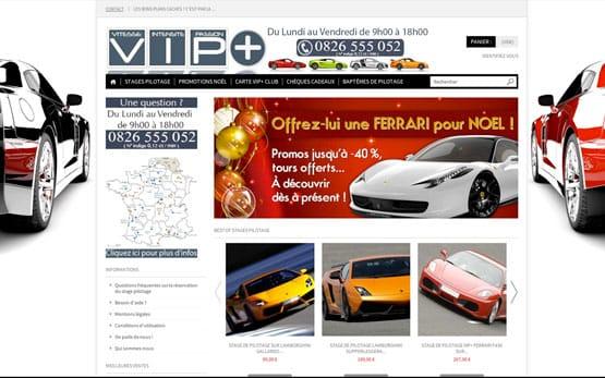création site prestashop : stage de pilotage en ligne