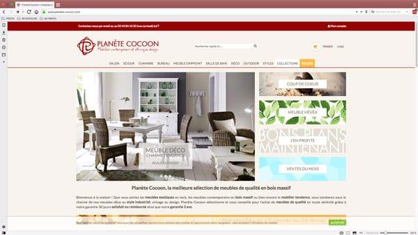 Migration powerboutique vers prestashop : création site prestashop de vente en ligne des meubles